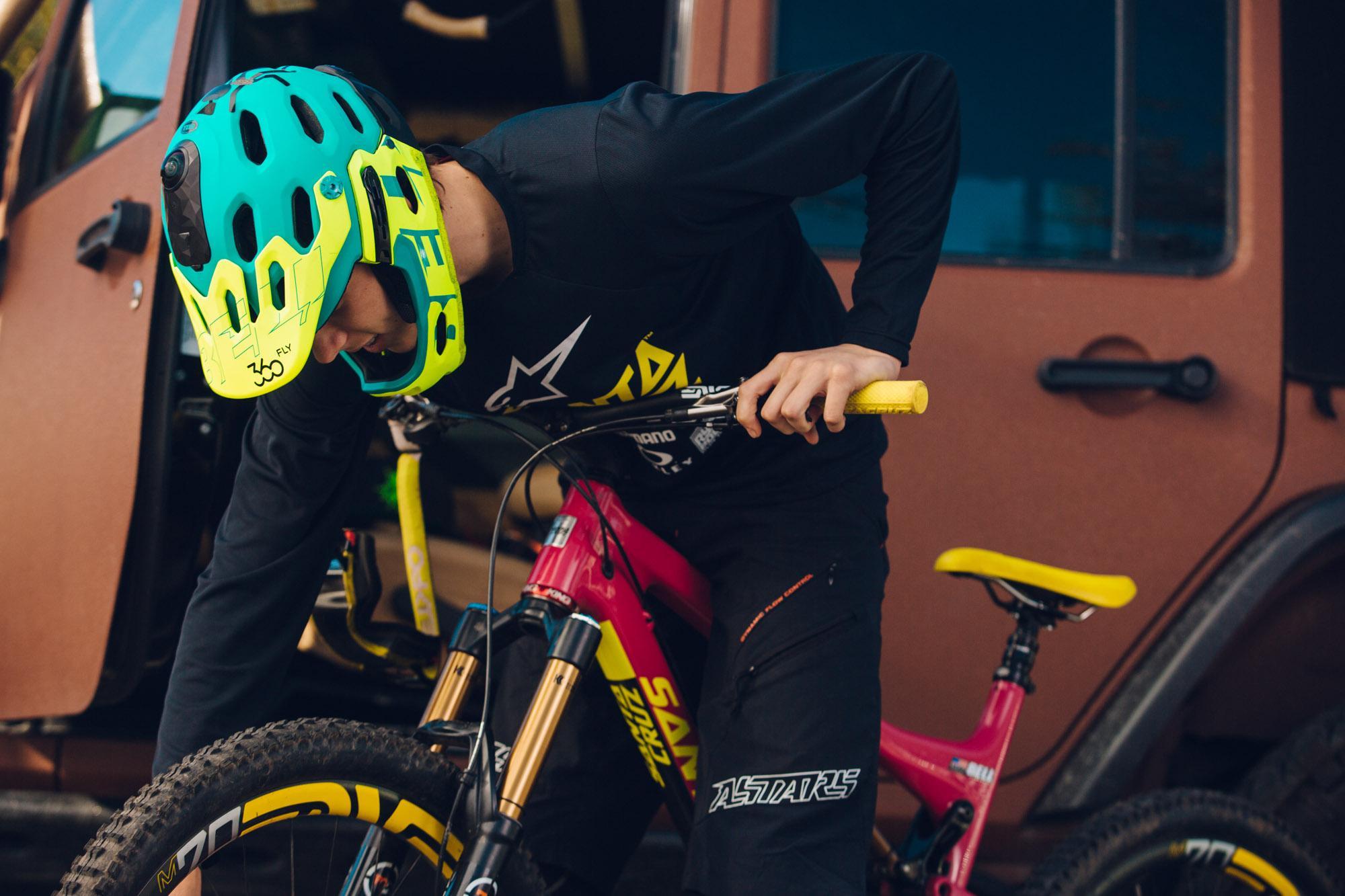 360fly_BRG Mt Bike Helmet_Bike